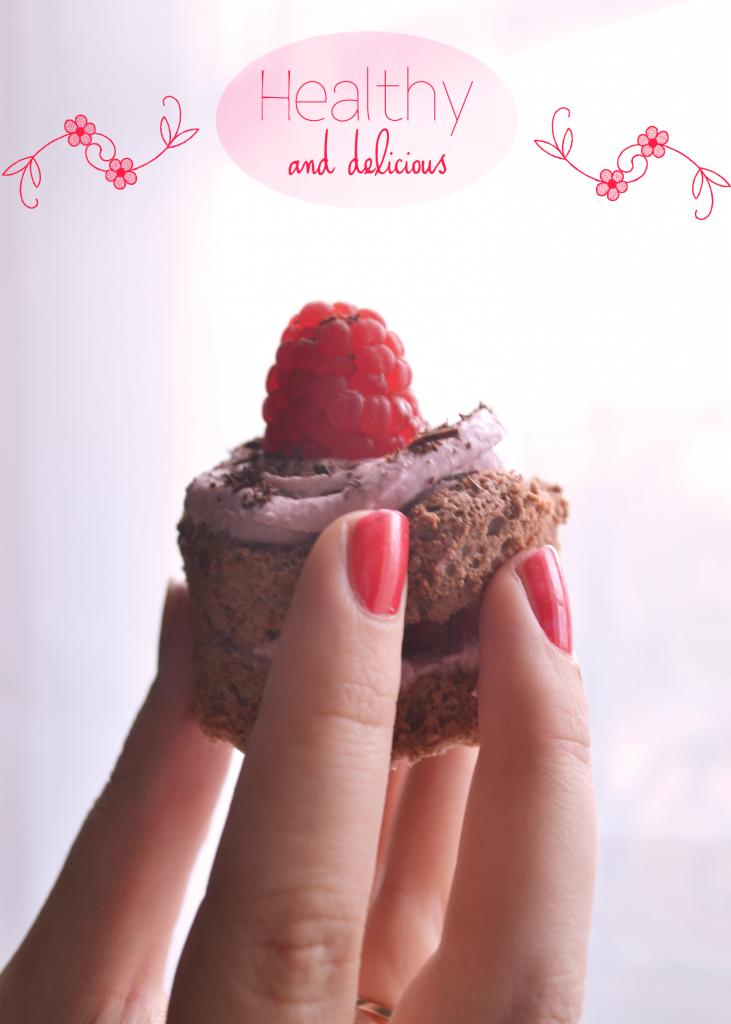 Mini layer cakes chocolat framboise