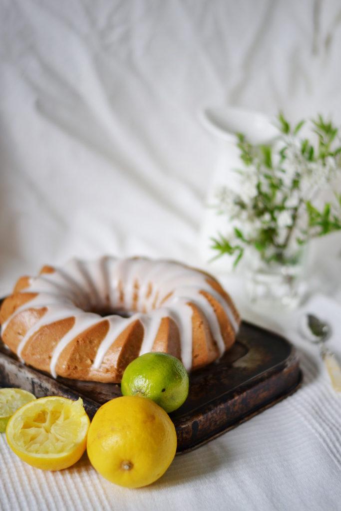 Bundt cake citron & thé earl grey