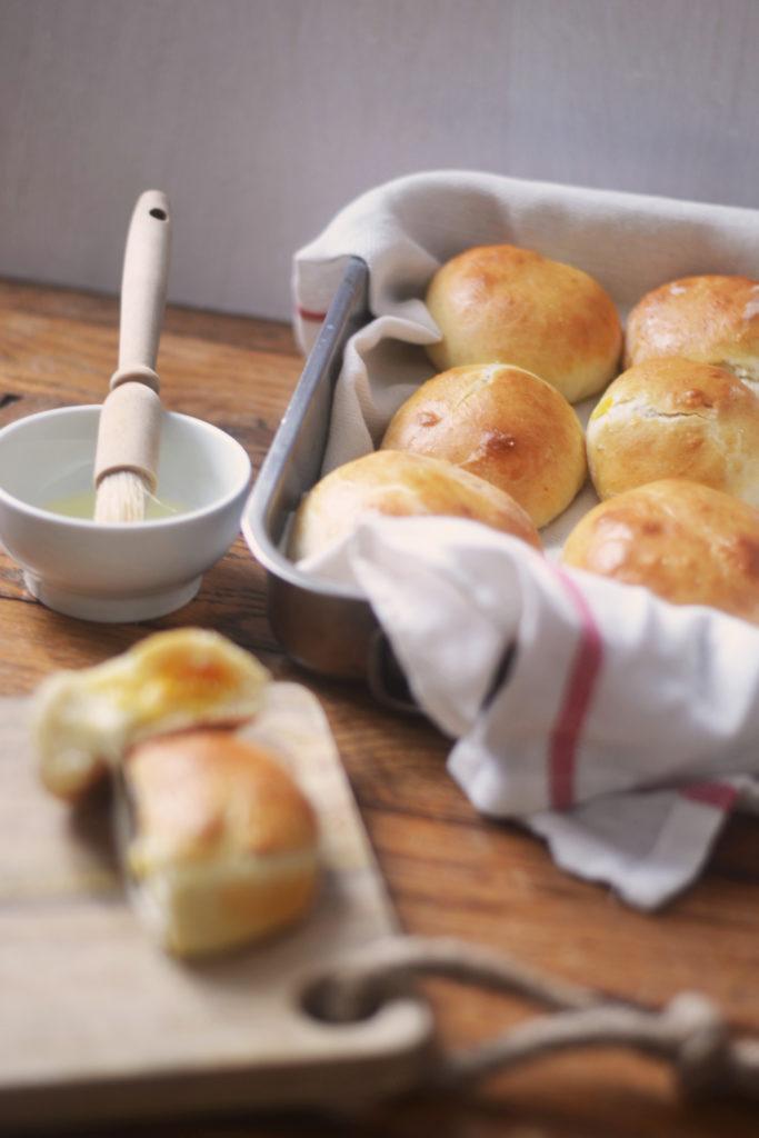 Buns fourrés butternut mozzarella