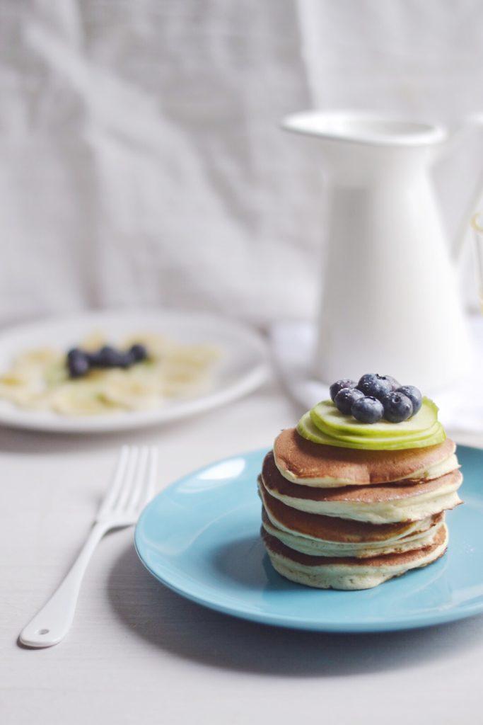 Pancakes légers au sirop d'agave