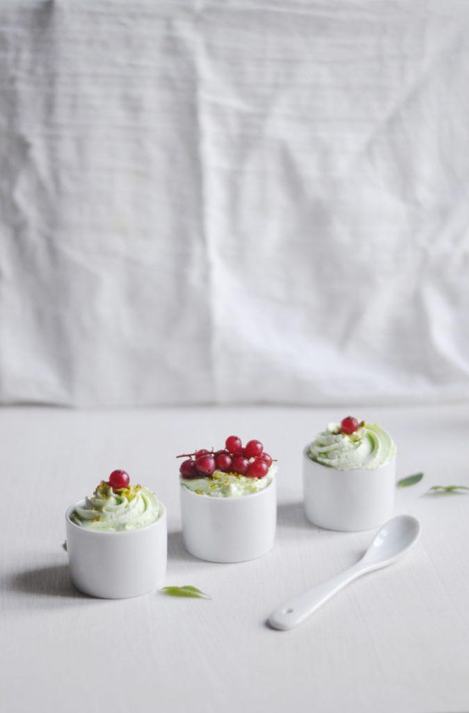 Mini trifles pistache groseilles & speculoos