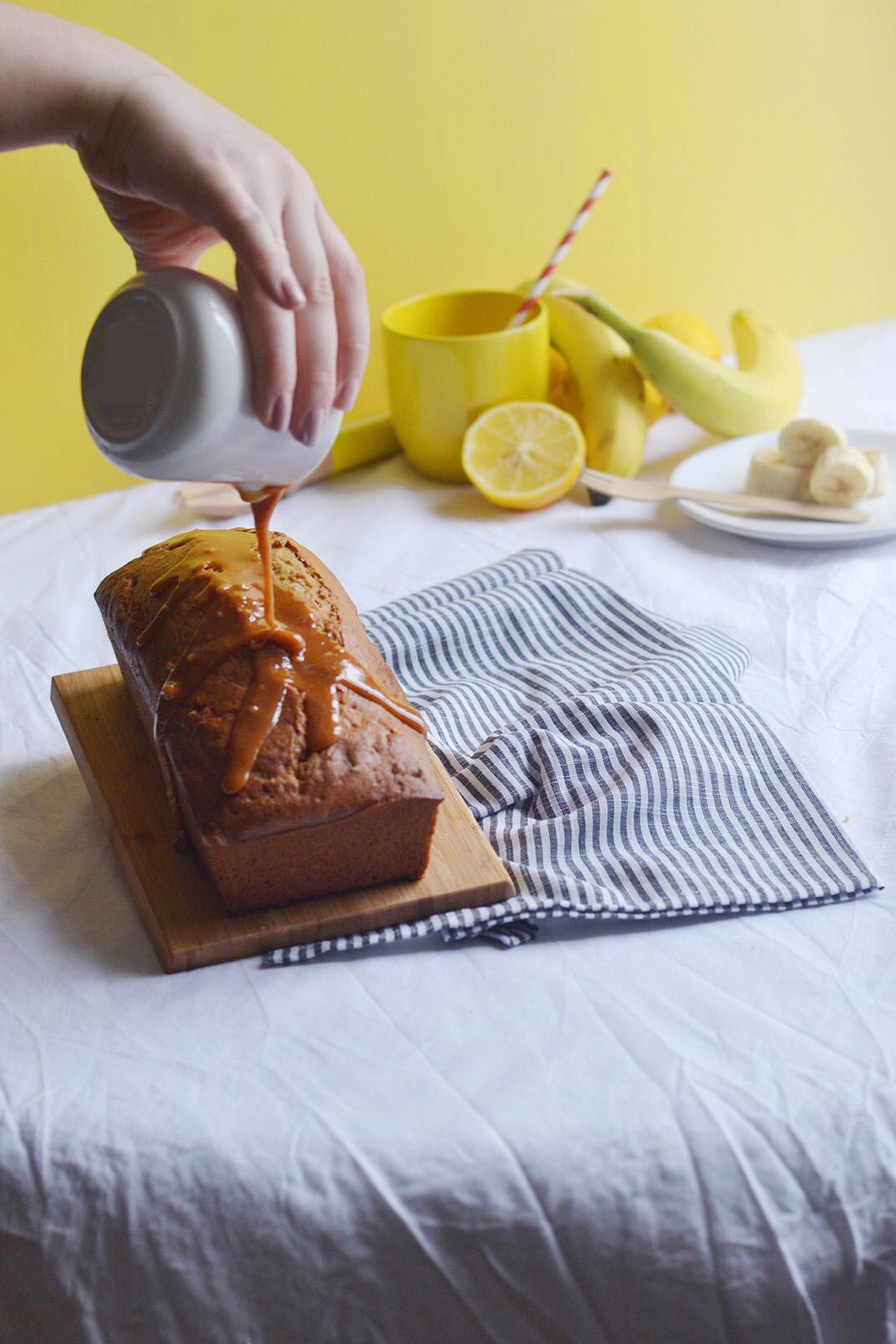 Banana bread caramel beurre sale4