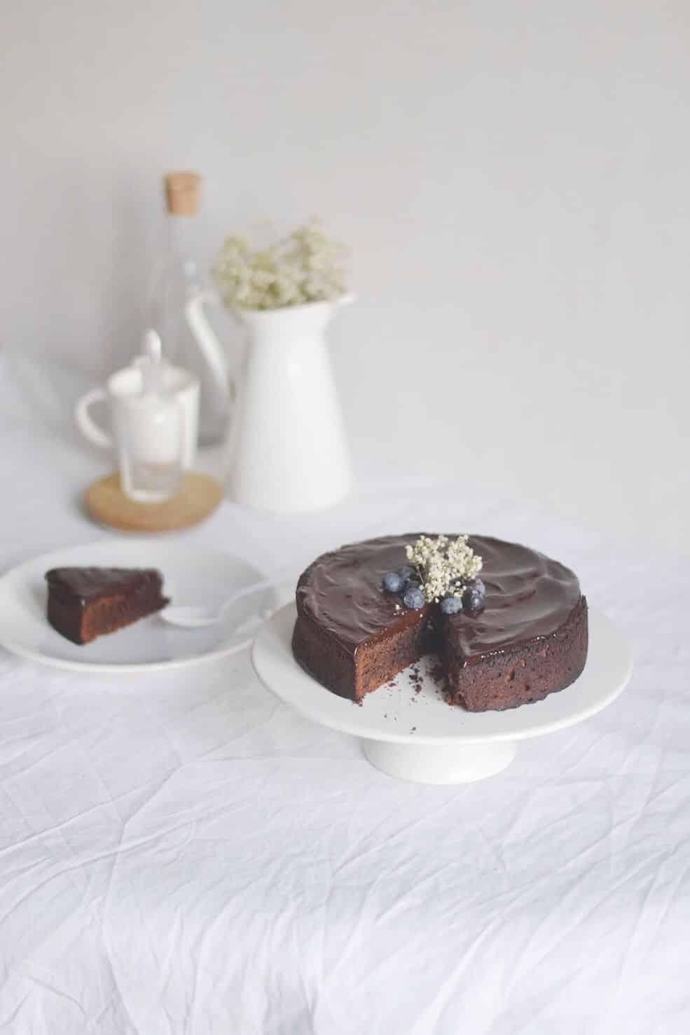 Le gâteau au chocolat de mon enfance
