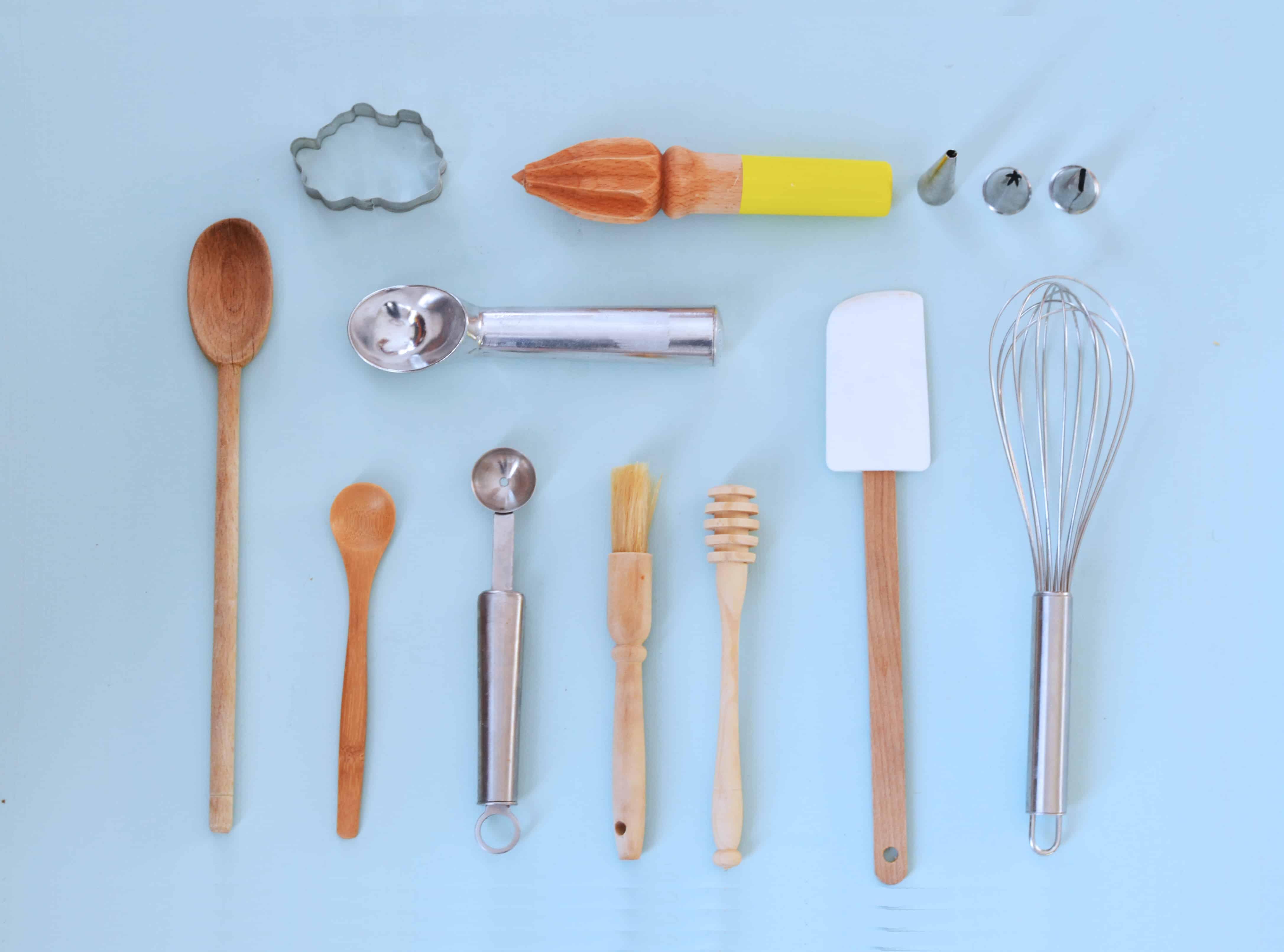 Les ustensiles indispensables en pâtisserie (pour débutants
