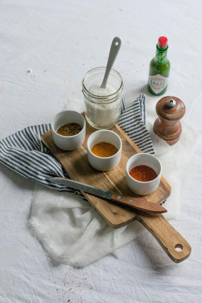 DIY cadeau gourmand pour Noël : des sels aromatisés*