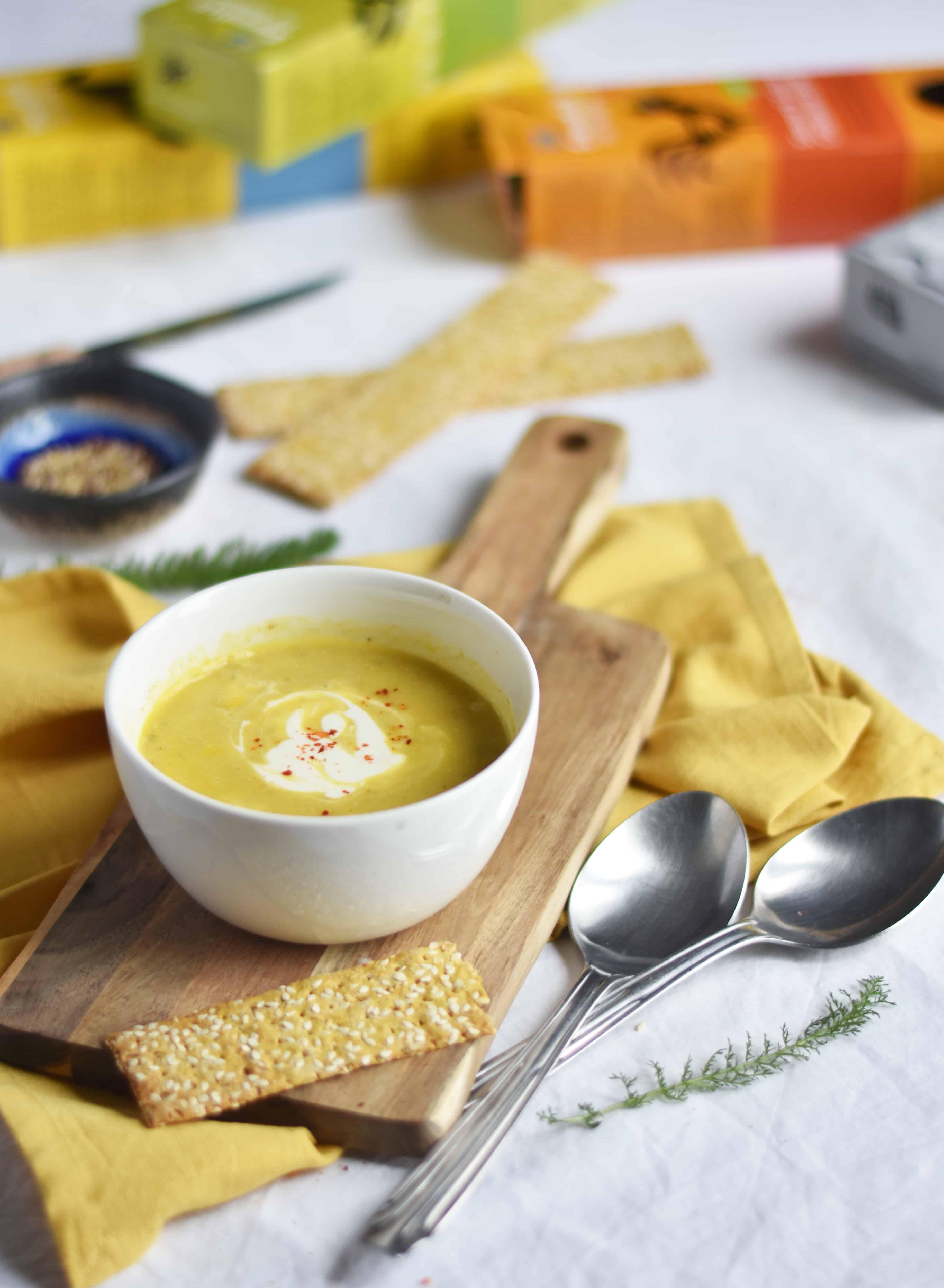 Soupe quinoa carotte jaune
