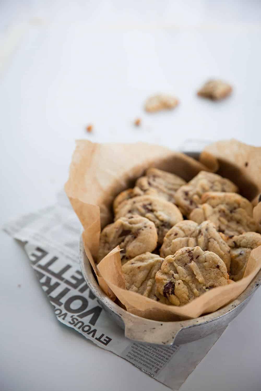 Chewey chocolate chip cookies