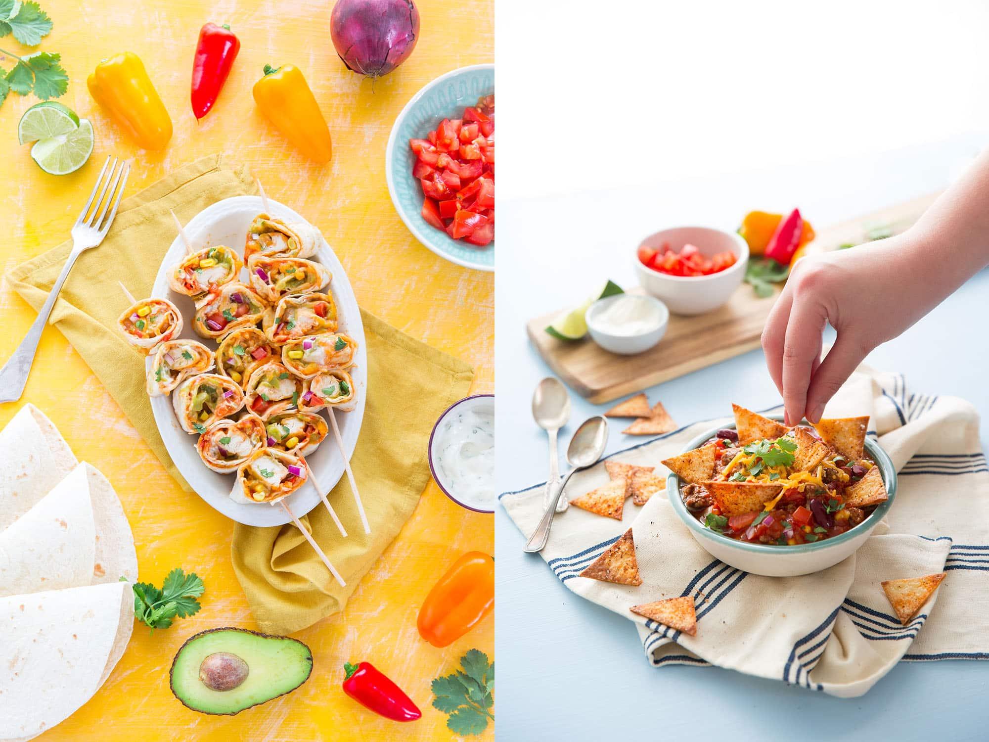 Burritos ou fajitas ?