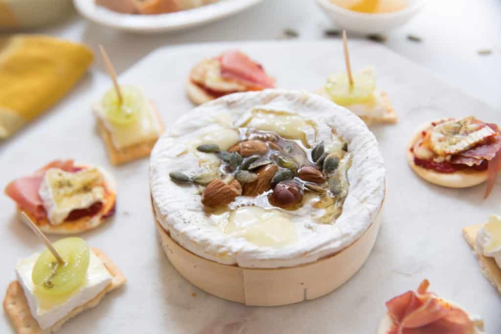 Plateau de fromage apéritif