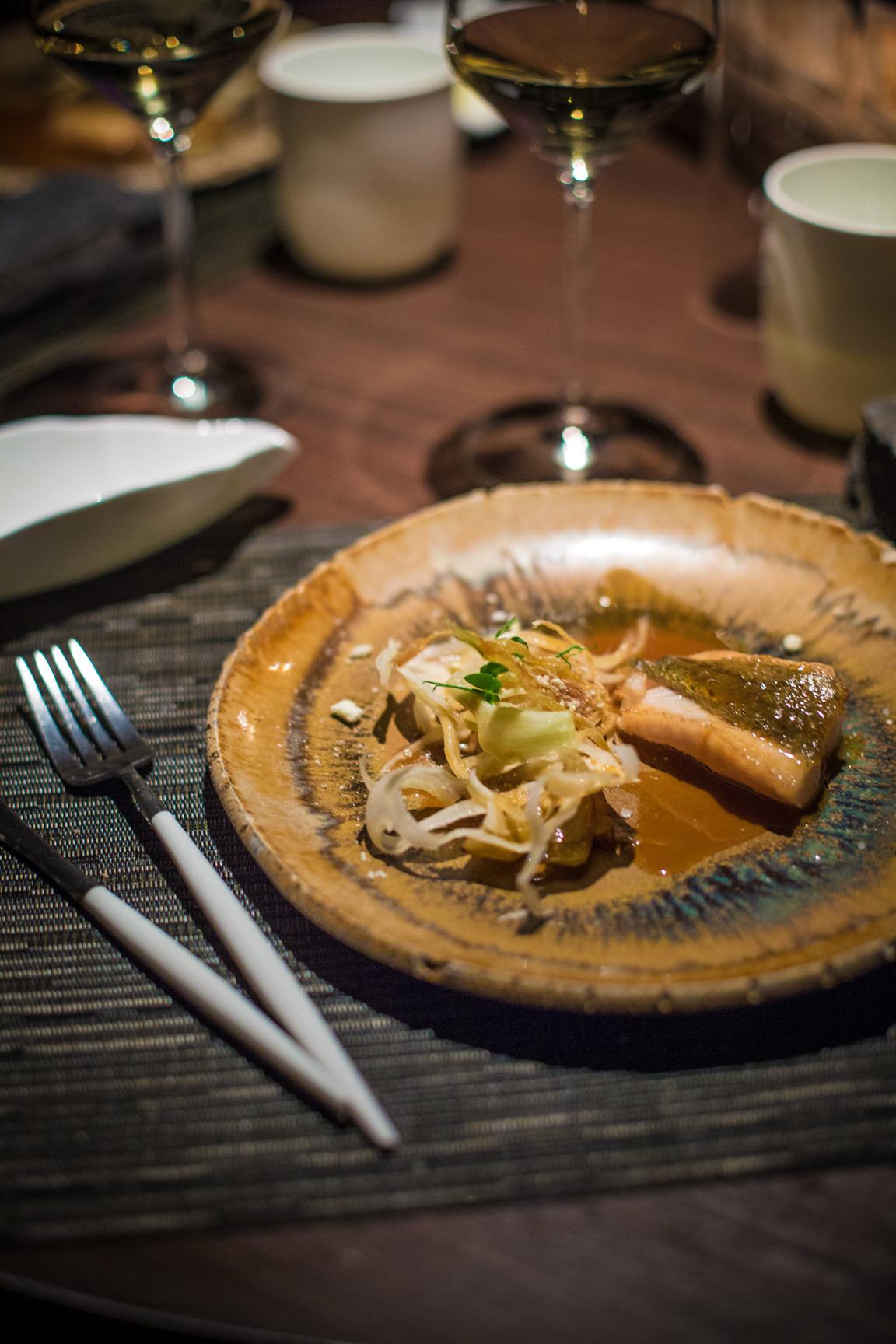Diner Charlemagne Poisson