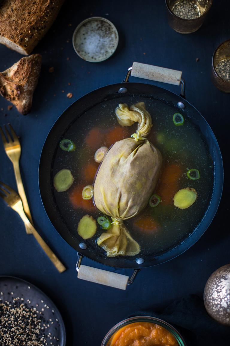 foie gras bouillon asiatique