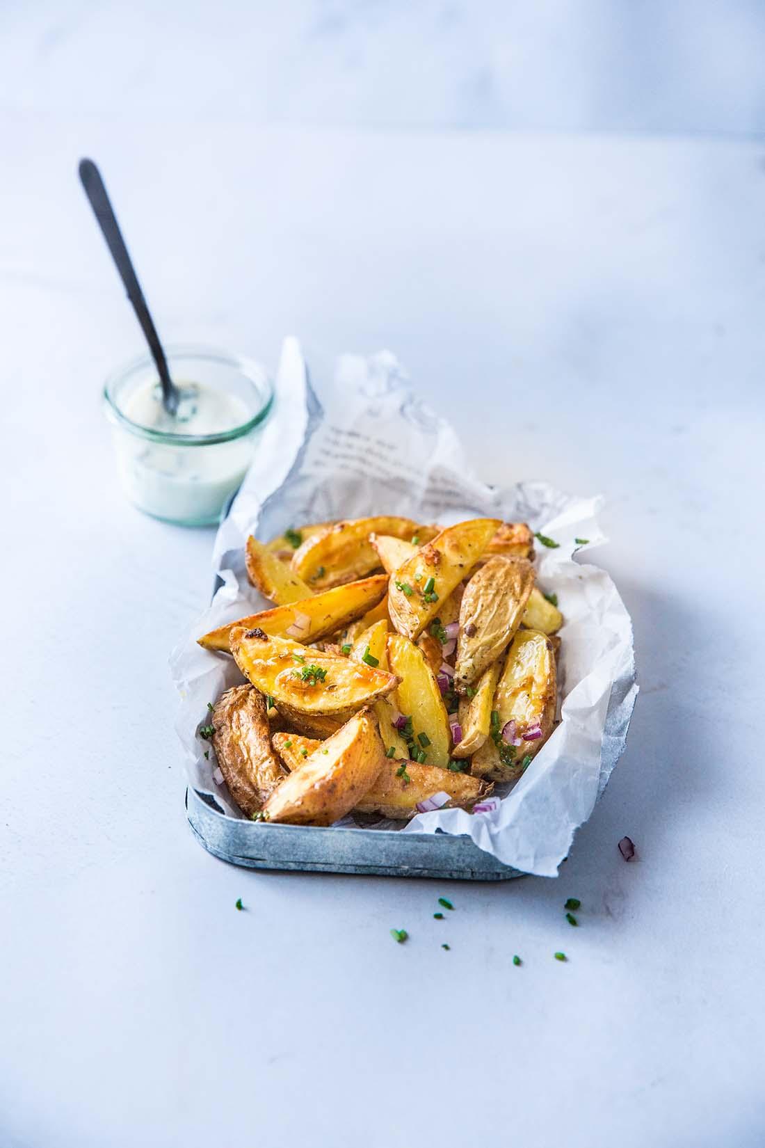 Potatoes ail & herbes de Provence